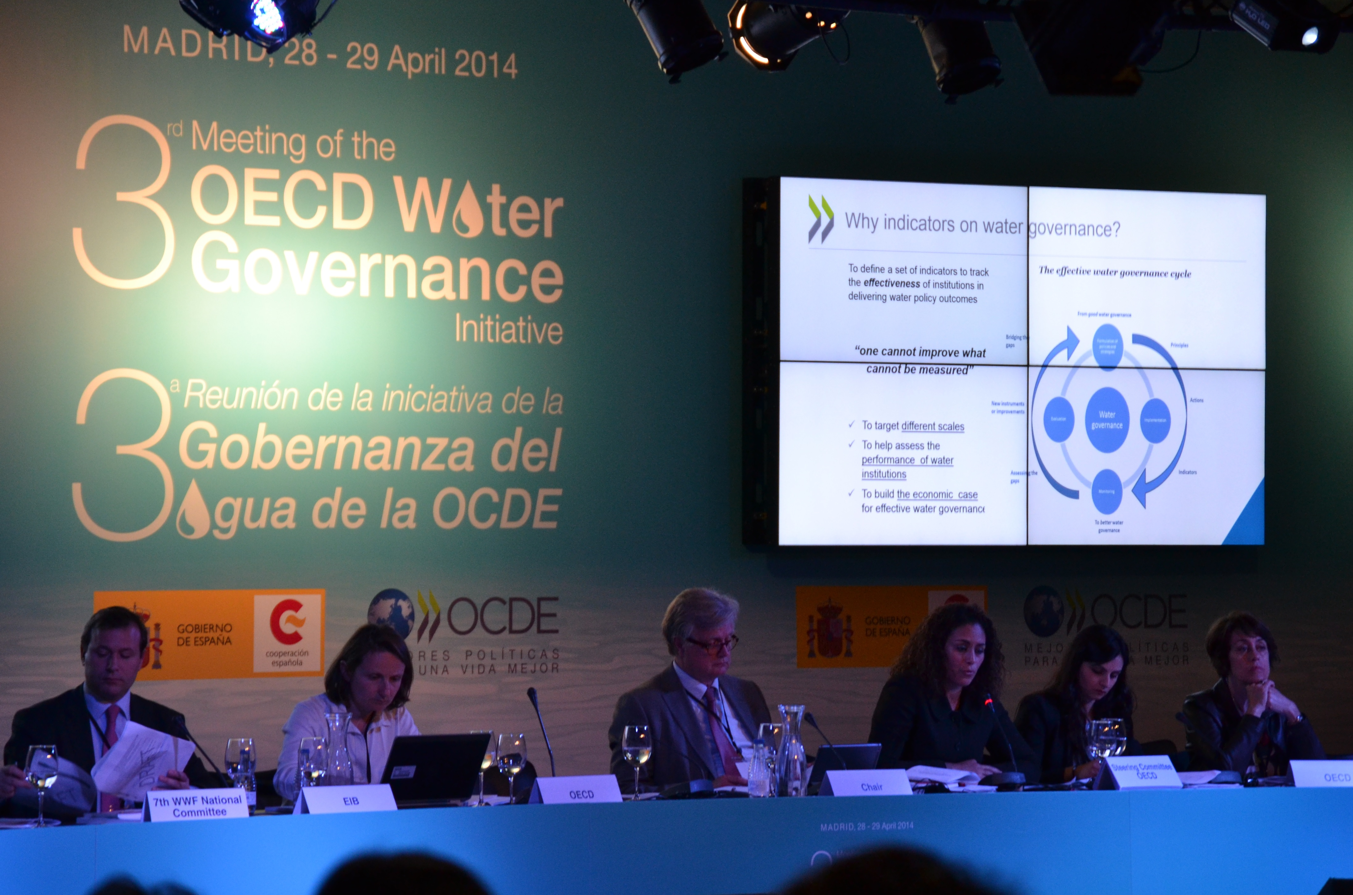 Madrid hosts OECD Water Governance Initiative meeting