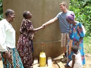 Oscar McLaughlin in Uganda