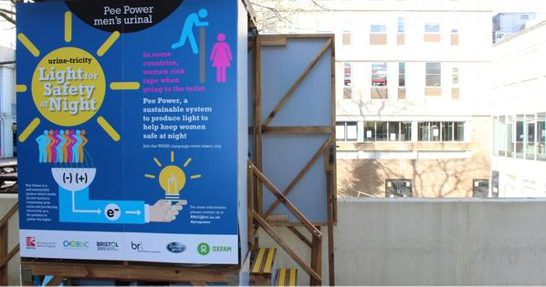 Urine powered toilets: a solution to improving sanitation for the world's poor?