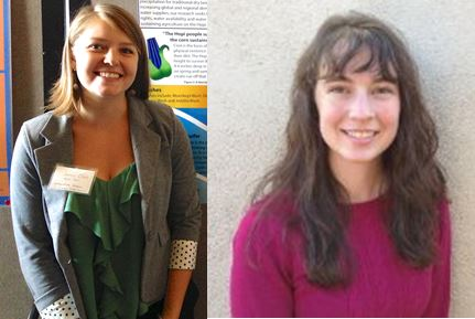 University of Arizona IWSN Student Project Awards – Congratulations to Carly Herndon and Janine Clark!