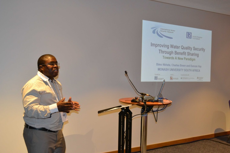 IWSN and UEA explore water security at the 2015 IWRA World Water Congress