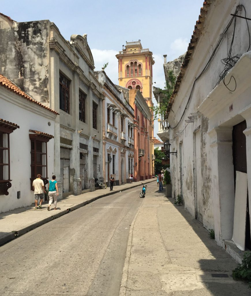 Inside the walls of colonial Cartagena