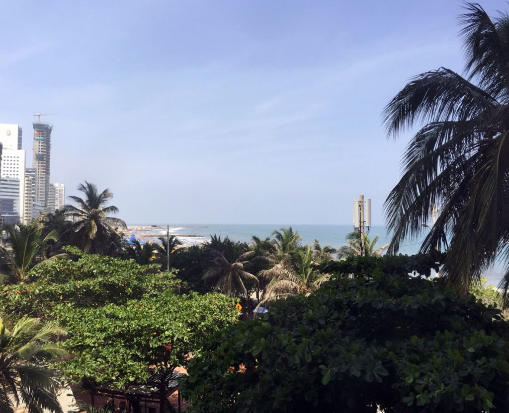 Cartagena seaview