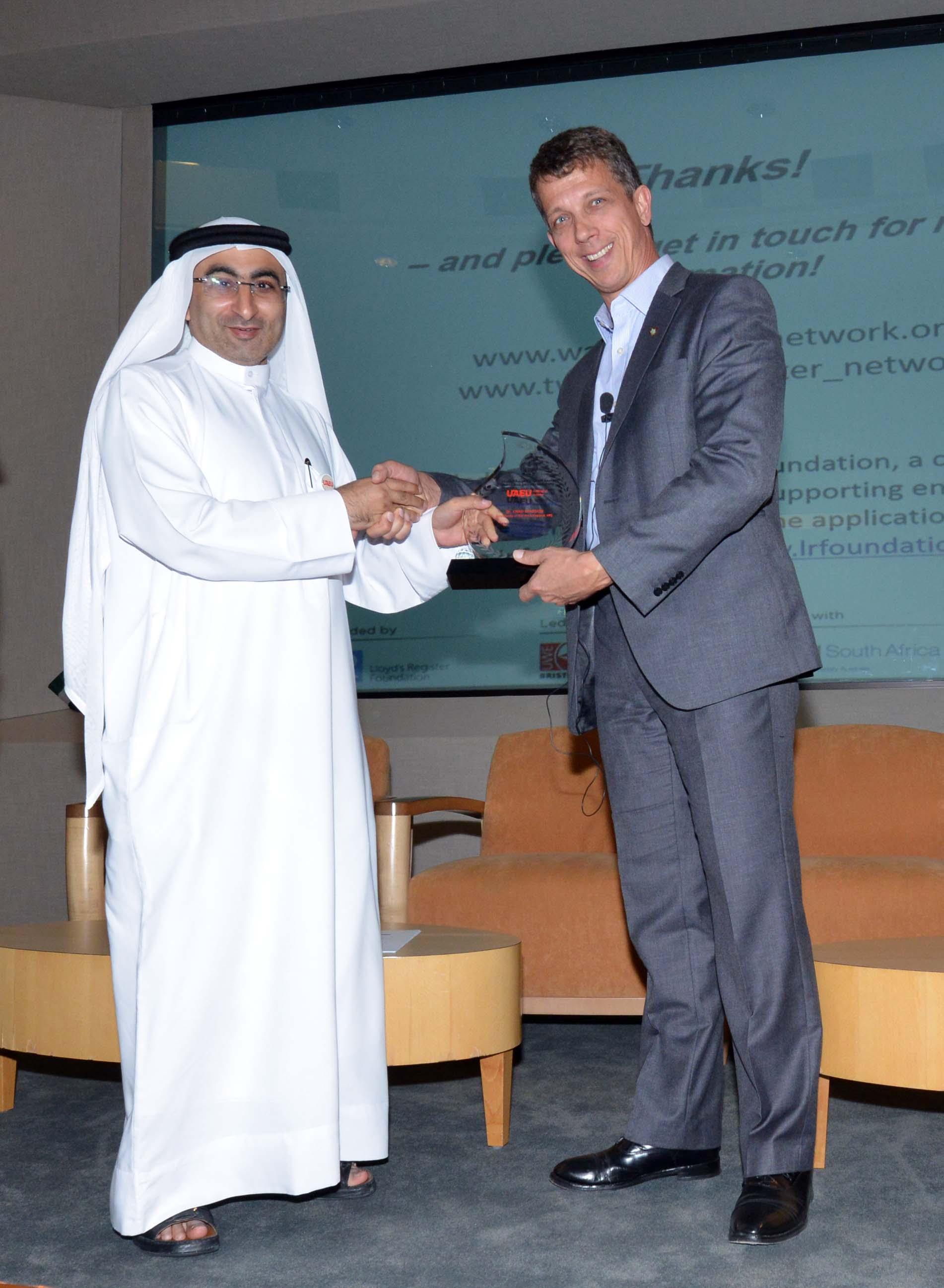IWSN strengthens links with United Arab Emirates University