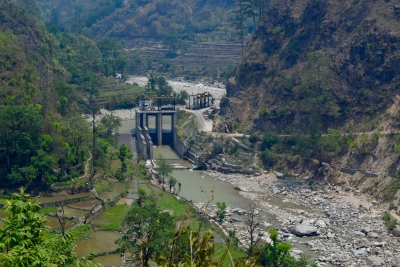 How changes in rainfall and stream flows affect water security in the Indian Himalayan foothills