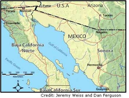 Scenario planning for future water security in Hermosillo Mexico