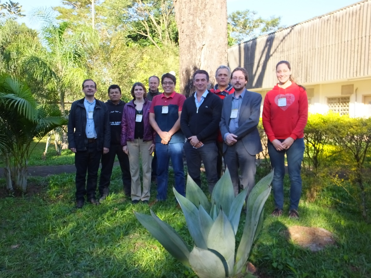 IWSN sponsored participants together with course leaders Koen Verbist (UNESCO-IHP – second right) and Ana Prado (NASA-ARSET – third left).