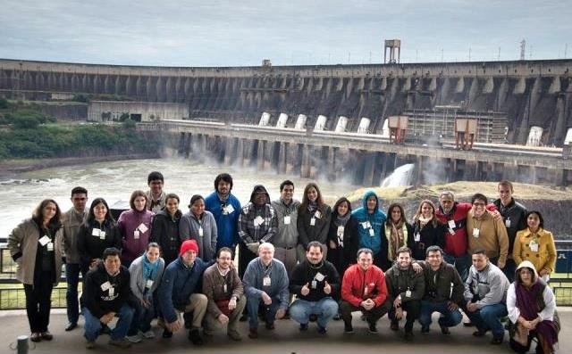 International workshop on remote sensing in Foz do Iguaçu, Brazil