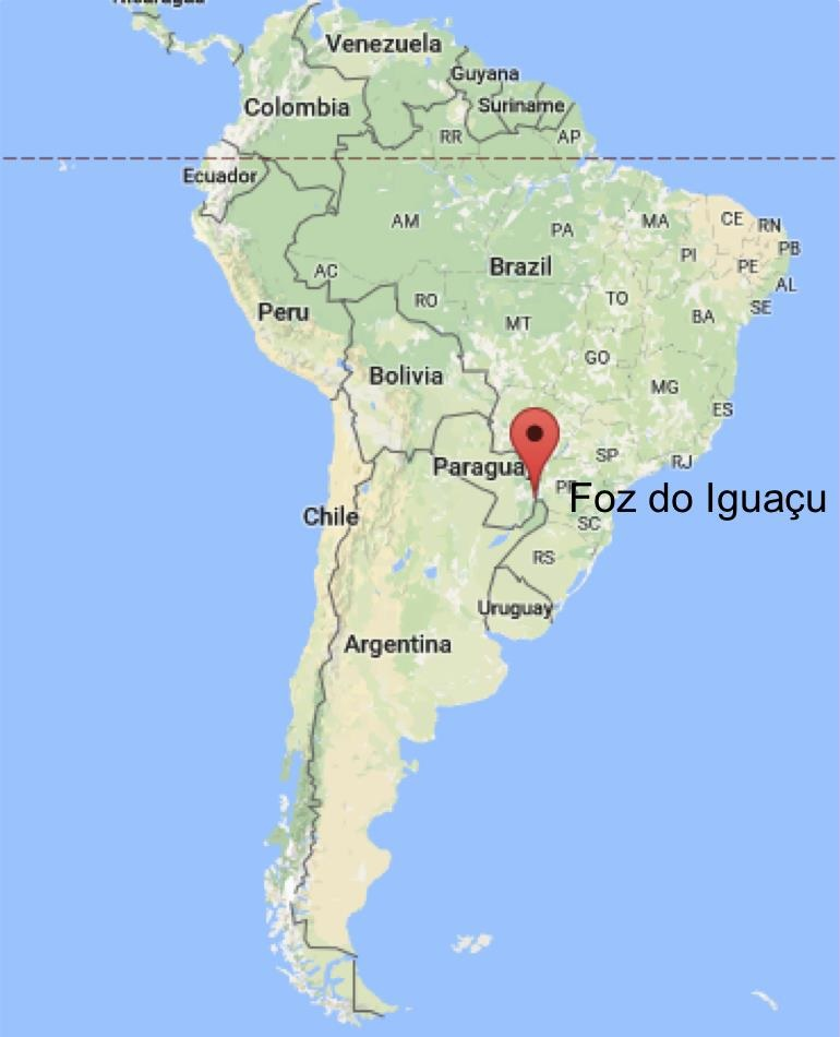 International workshop on remote sensing in Foz do Iguau Brazil