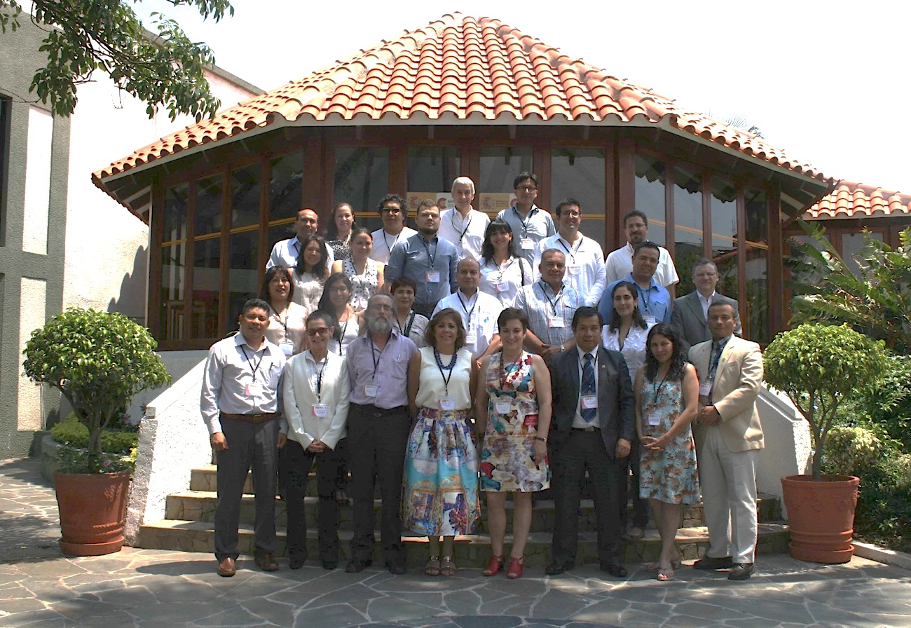 Participants of the training course in Bolivia (photo credit: AECID – Santa Cruz)