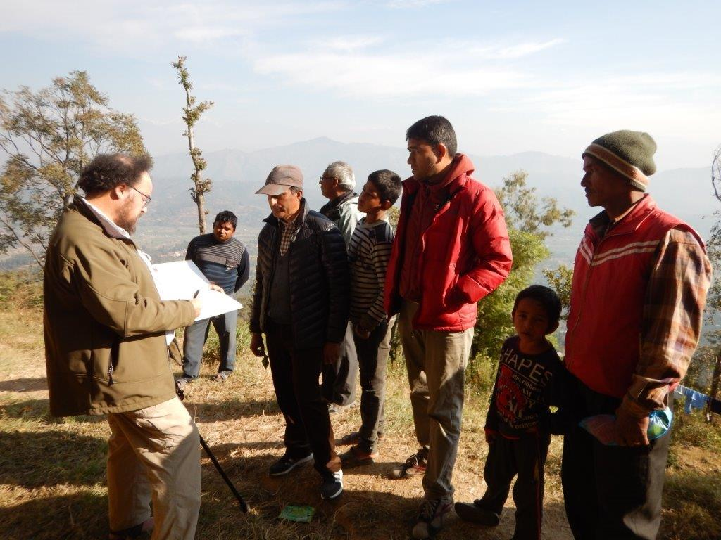 IWSN and Tribhuvan University investigate effects of invasive alien plants on mountain springs in Nepal