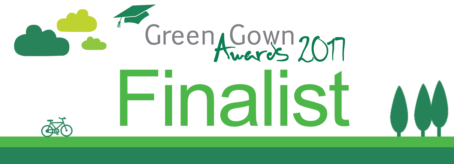 IWSN named as finalist for Green Gown Awards