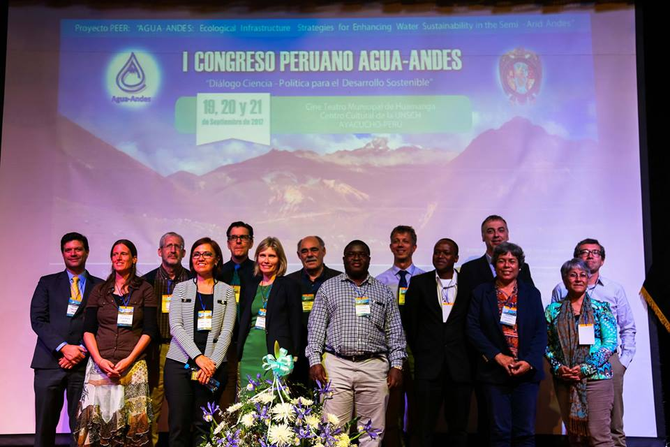 First Peruvian Congress Agua-Andes: Science-policy dialogues for sustainable development