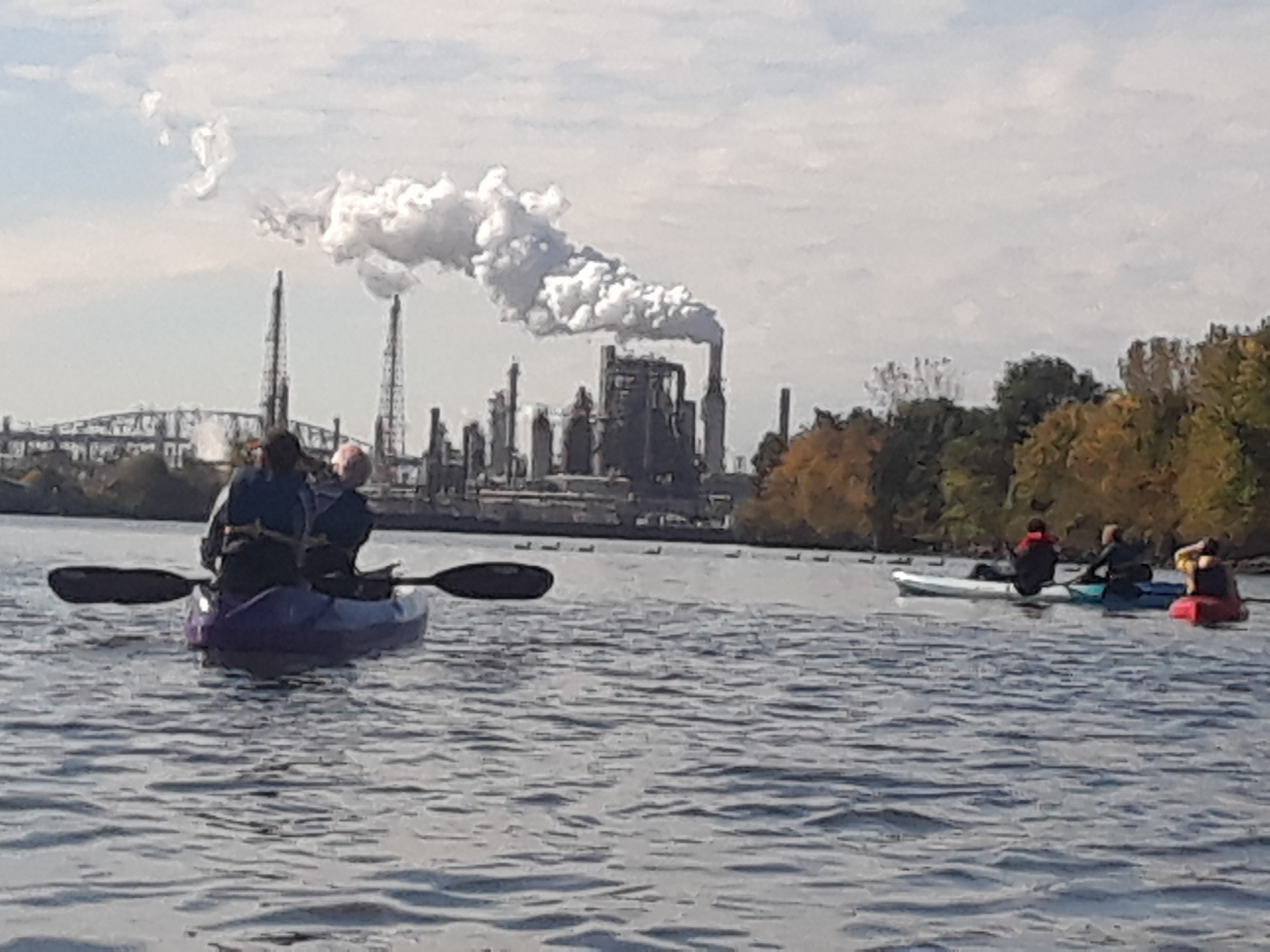 The Anthropocene from the perspective of the Schuyllkil River