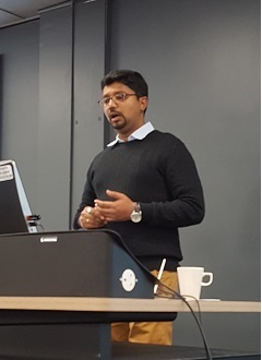 Dr Nishikant Gupta visits UWE to discuss water issues in the Himalayas