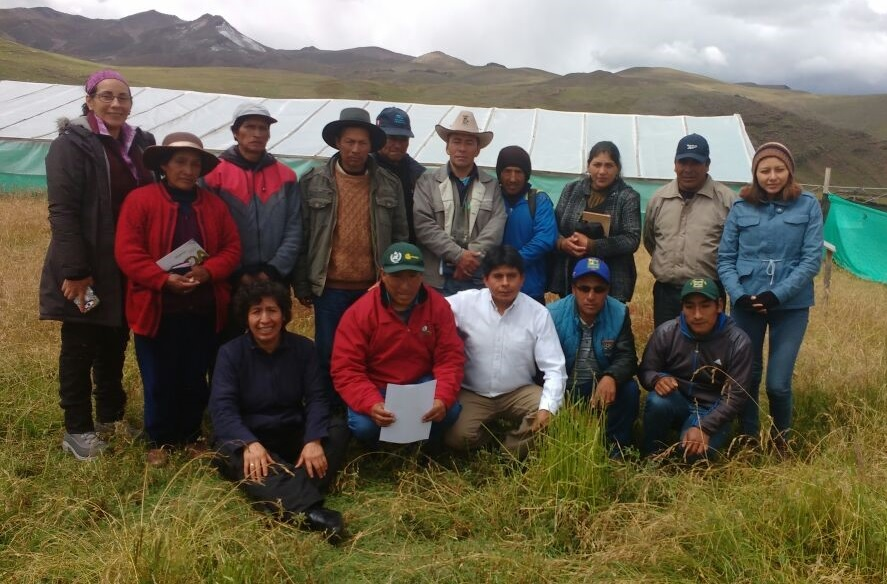 A management tool for pastures and wetlands of the Pilpichaca community