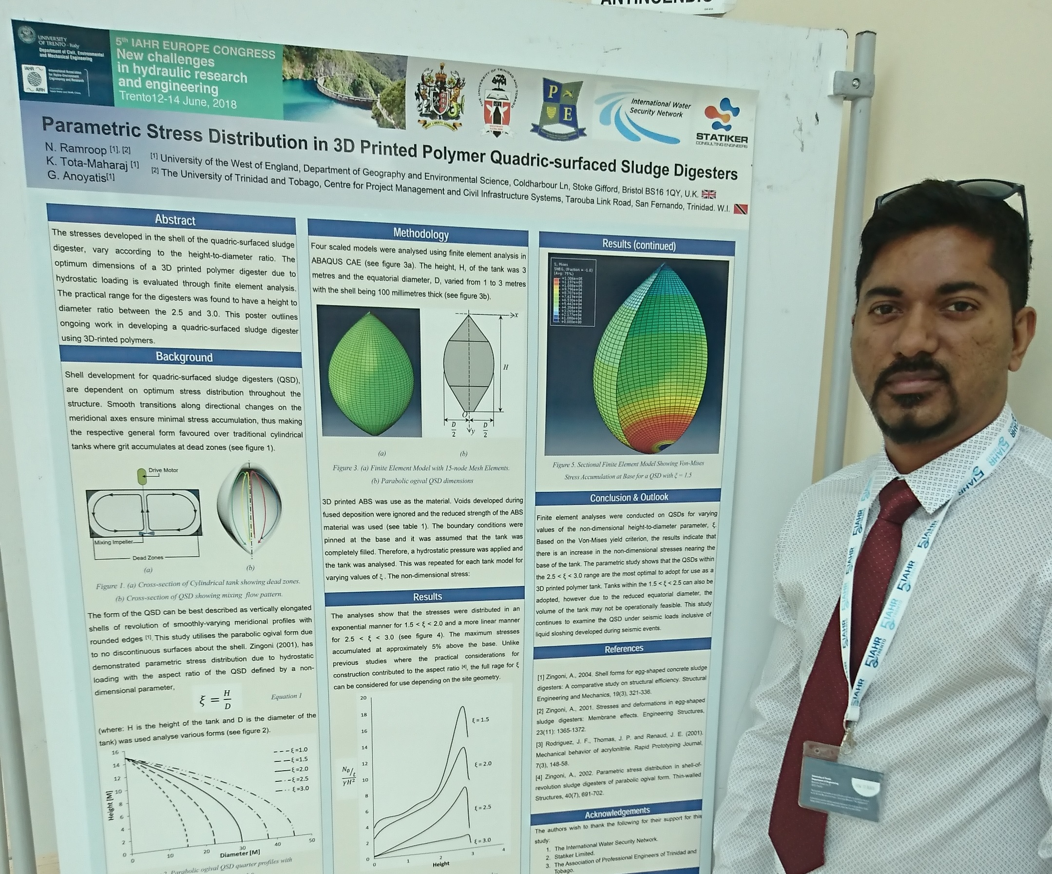 IWSN researchers attend IAHR European Congress in Italy