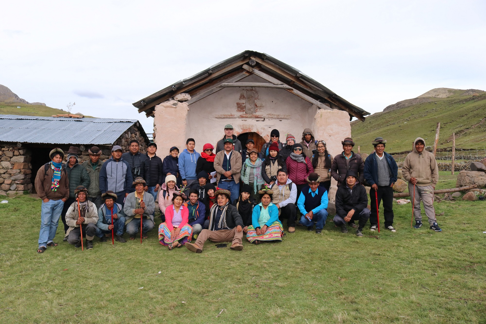 Strengthening local capacities for the sustainable management of the high Andean wetlands of Ayacucho, Peru