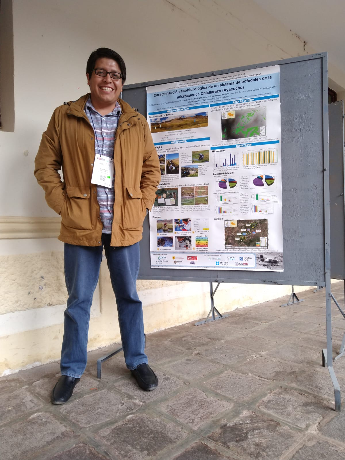 Presenting project results at the International Symposium 'The mountains: Our future'