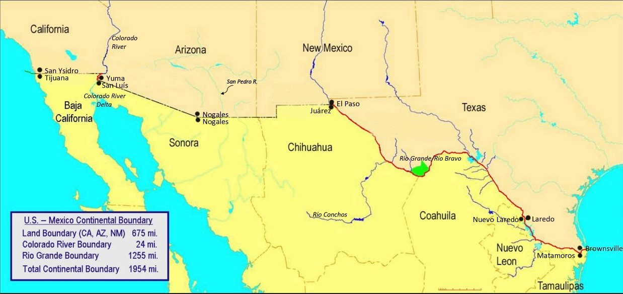 Science and diplomacy around shared US-Mexico water resources
