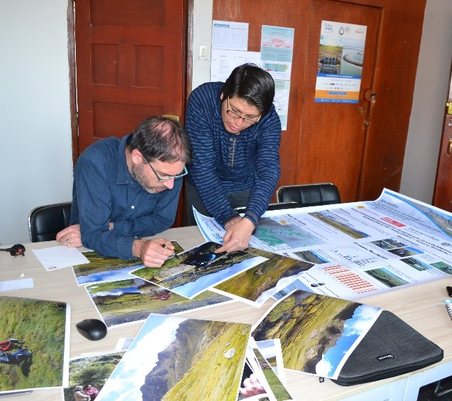 Assessing the hydrological processes of high Andean ecosystems