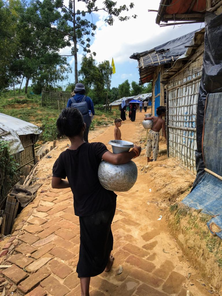 Water insecurity in the Rohingya refugee camps of Bangladesh