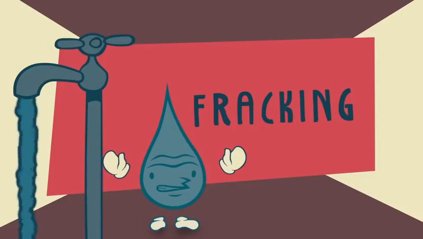 Watch our animation on fracking and water security